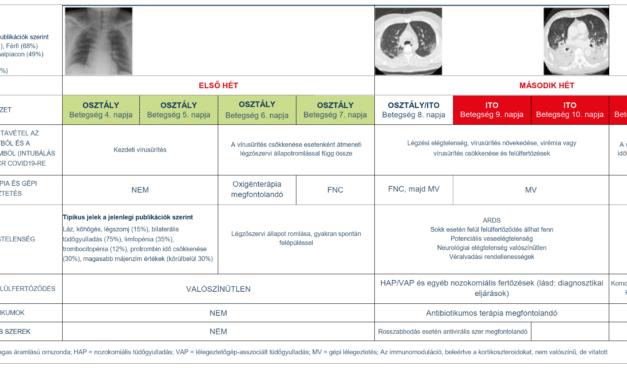 Súlyos SARS-CoV-2 fertőzés: Gyakorlati megfontolások és szervezési stratégiák intenzív osztályon dolgozók számára