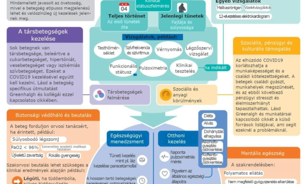 Posztakut COVID az alapellátásban – infografika